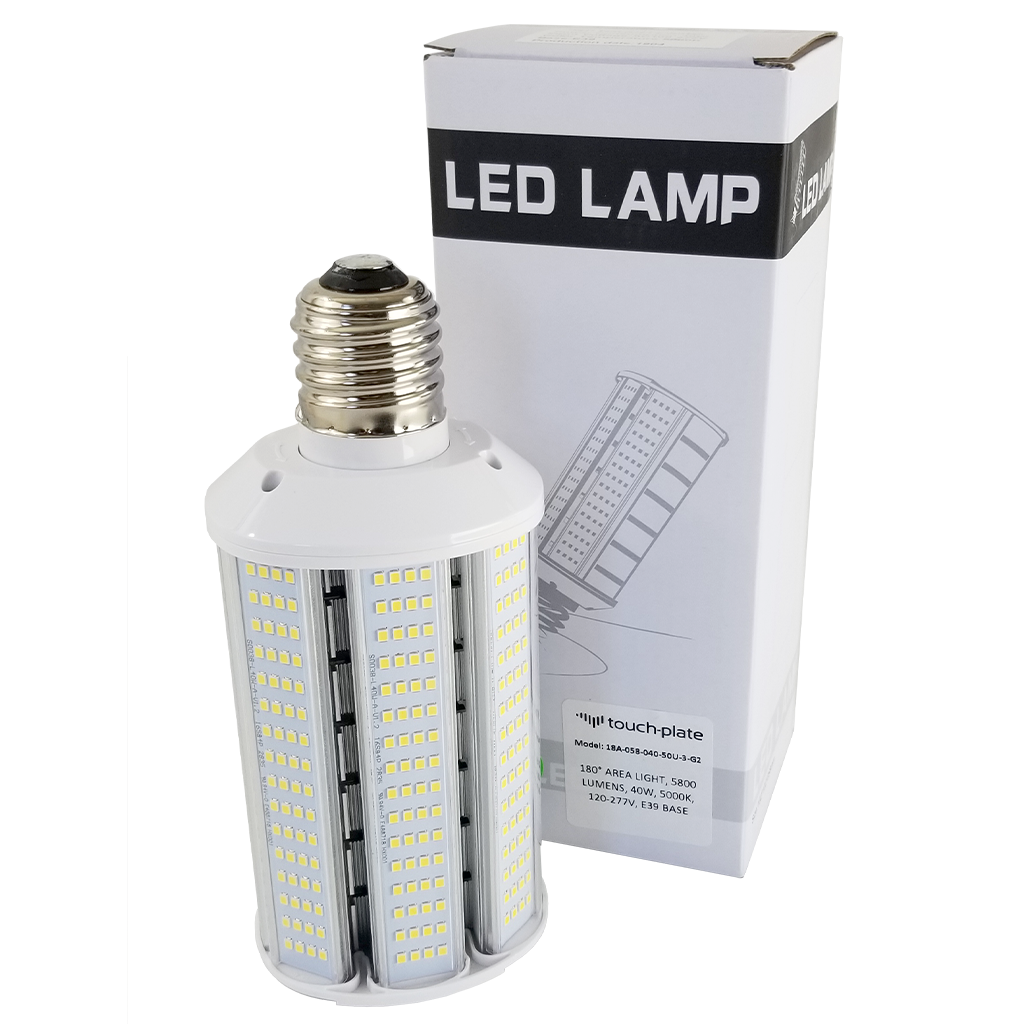 40 Watt LED Retrofit 180° Area Bulb- Platinum Series -5800lm-40w-000