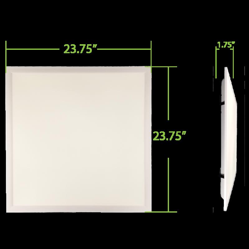 30 Watt Dimmable 2x2 Back-Lite LED Panel - Platinum Series - 010