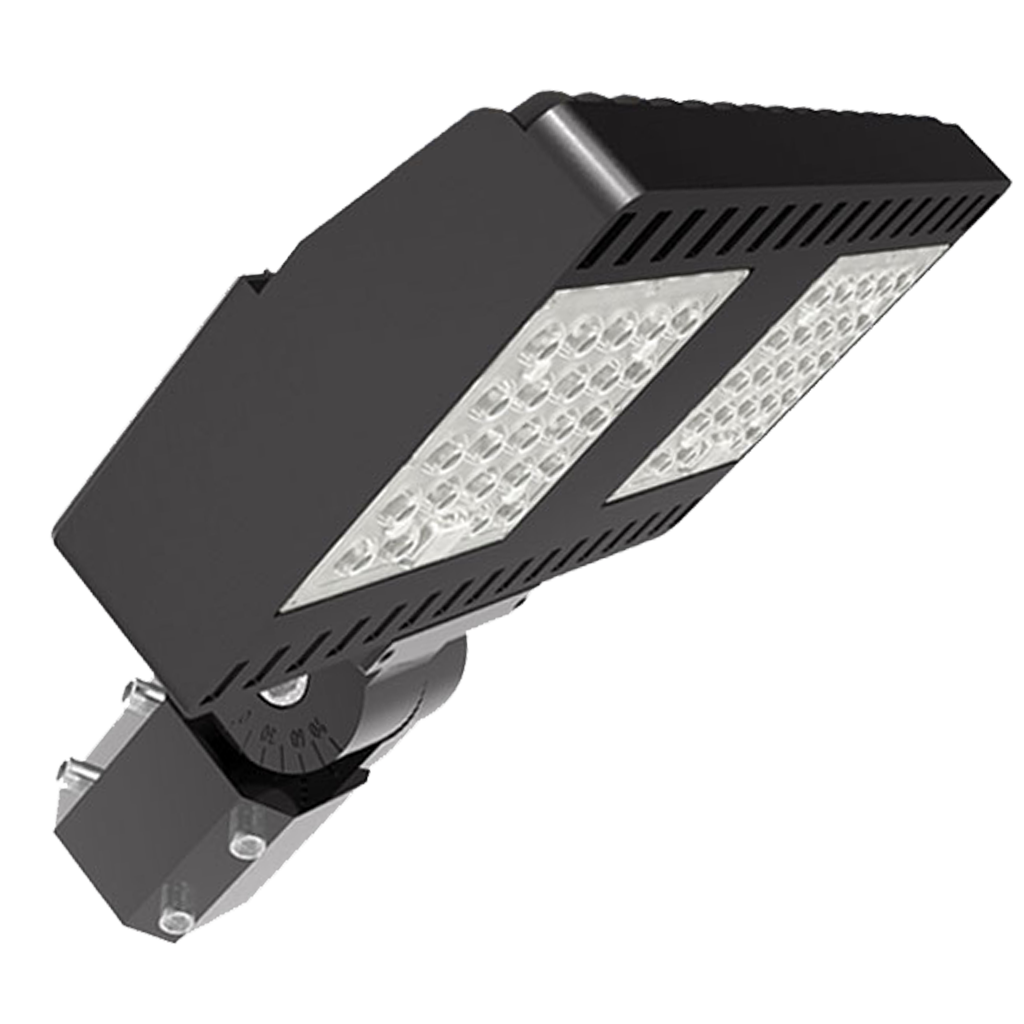 100-Watt-Outdoor-Shoebox-LED-Light-Platinium-01