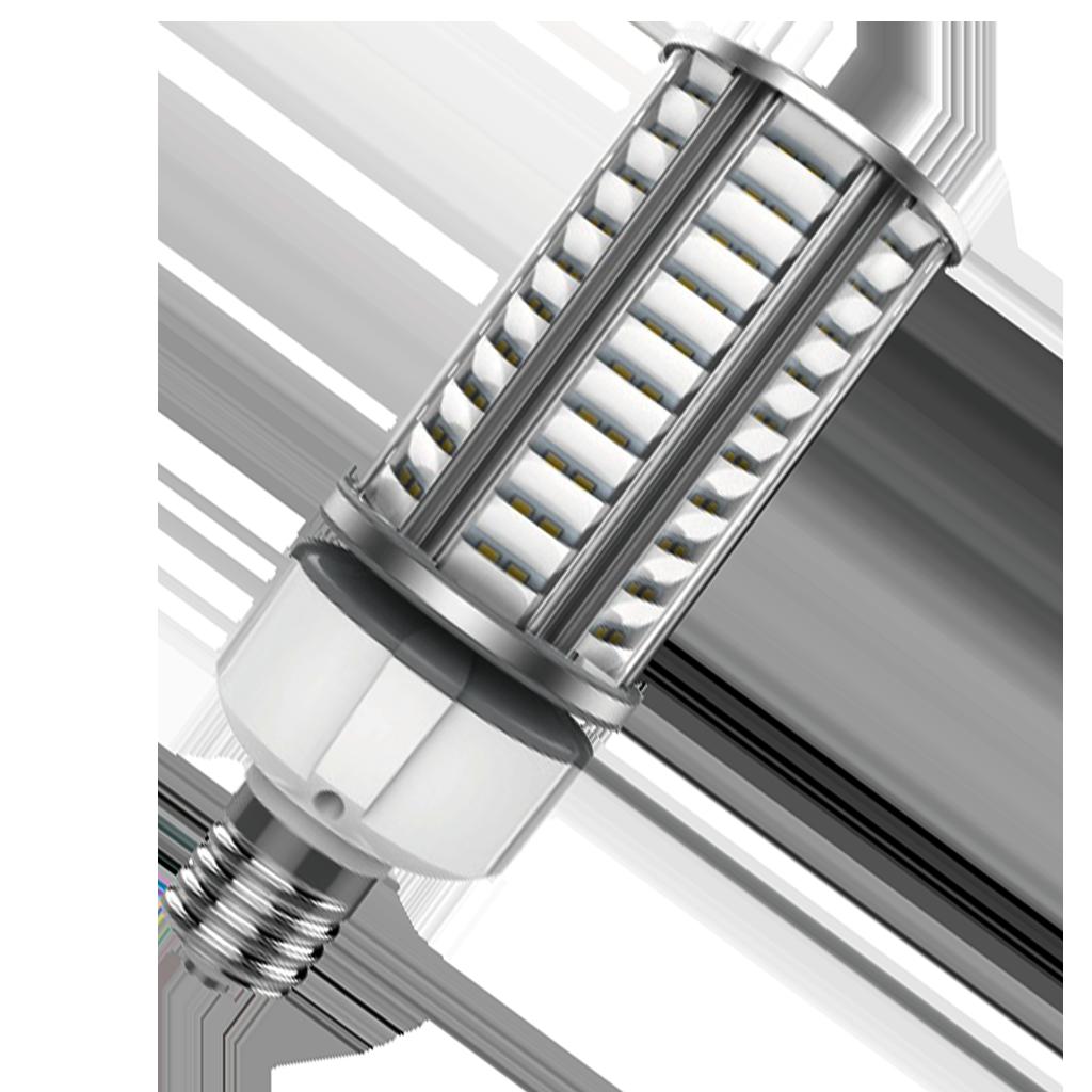 36 Watt Reverse Down Reflecting LED Bulb-Gold-3800lm-001