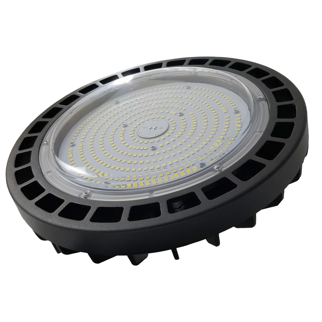 150 Watt Dimmable UFO LED High Bay-Plat+-27000lm-001