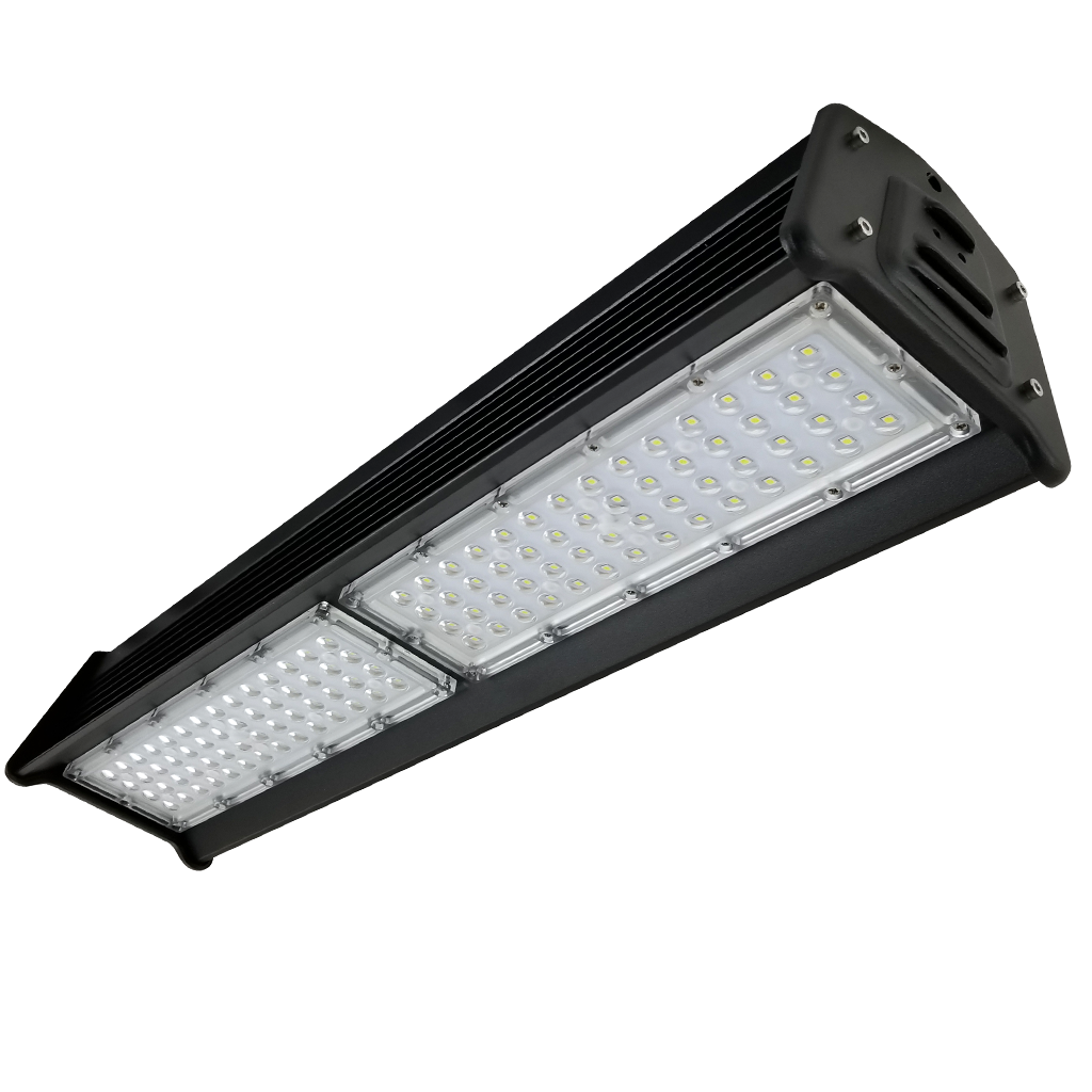 100 Watt Linear LED High Bay-Silver-12500lm-2ft-000