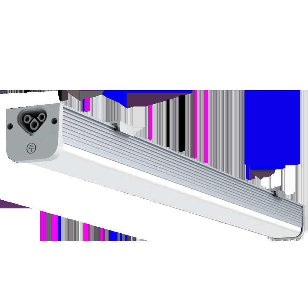 15 Watt 2T5 Linkable Linear LED-2ft-Silver-002