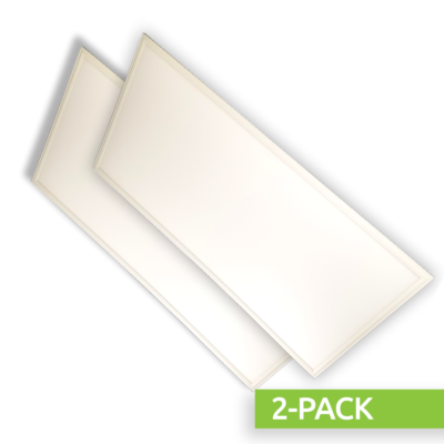 2-PACK-72 Watt 2×4 Panel